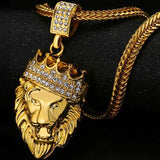 FREE 18K FULLY ICED OUT KING LION PENDANT + CHAIN BUNDLE - Urban Jewellers