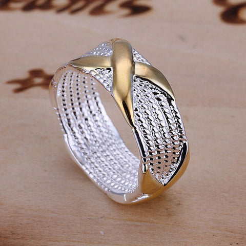 Sterling Silver Woven Ring - Urban Jewellers