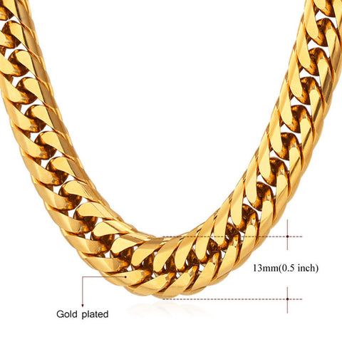 Miami Cuban Link Gold Chain - Urban Jewellers