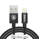 Rugged iPhone Lightning Charging Cable - 5 Color Choices