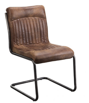 Adams Leather Dining Chair