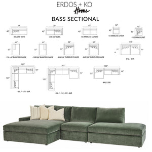 Bass Sectional