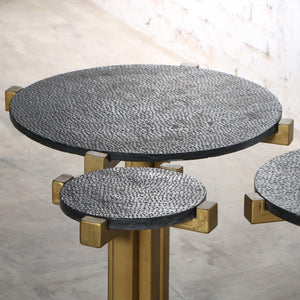 Butler Accent Tables with Marble Top