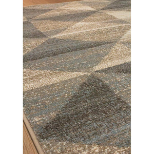 Claire Blue Grey Brown Rug