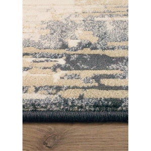 Ivan Blue Brown Grey Rug