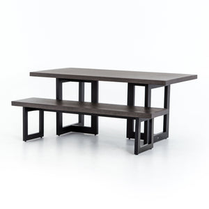 James Outdoor Dining Bench
