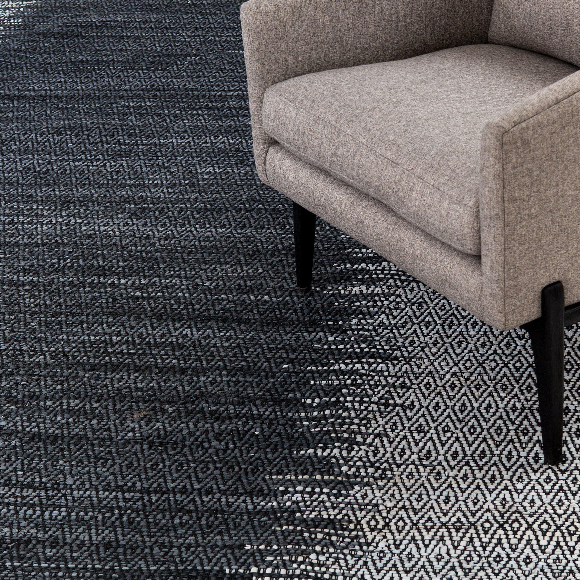 Layla Leather Woven Rug