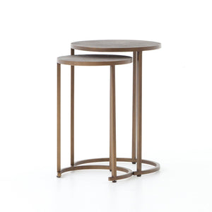 Simon Round Nested Accent Tables