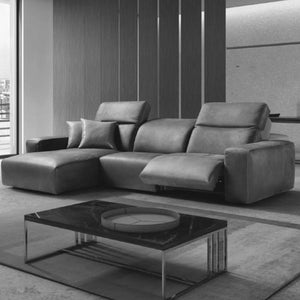 Ulysses Leather Sectional - Custom
