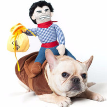 Cowboy Horse Riding Dog Costume | My Doggy & Me