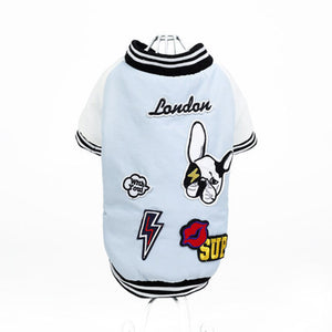 Cute 'London' Baseball Dog Coat | My Doggy & Me