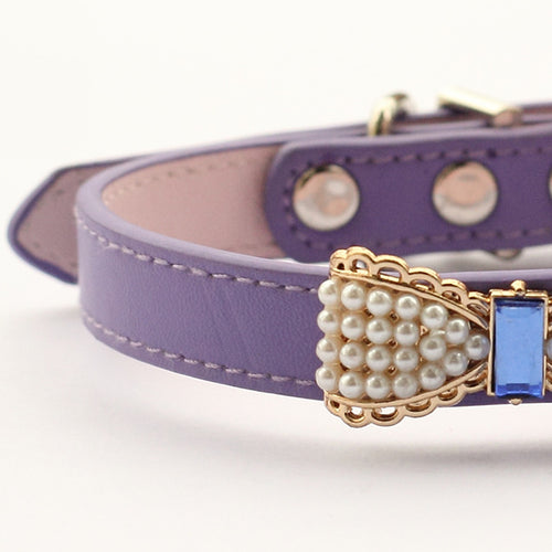 Princess Pearl Dog Collar | My Doggy & Me