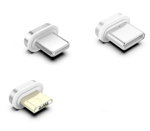 Embouts Magnétiques Pour Câbles Ultii - iPhone/Micro USB/Type C