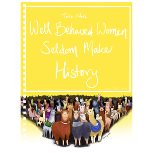 Well Behaved Women Notebook