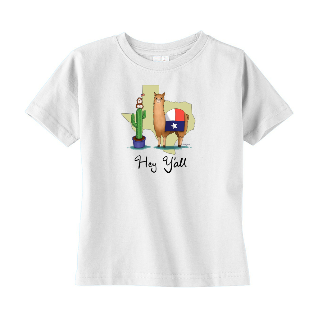 Texas Llama T-Shirt (Toddler)