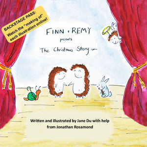 Finn + Remy Presents: The Christmas Story (Paperback)