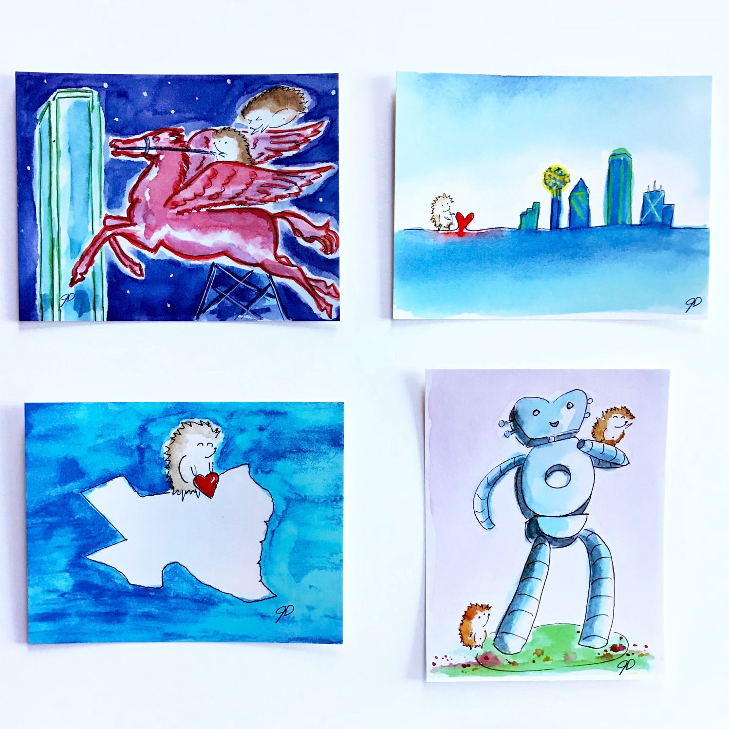 Dallas Postcard Surprise (set of 2)