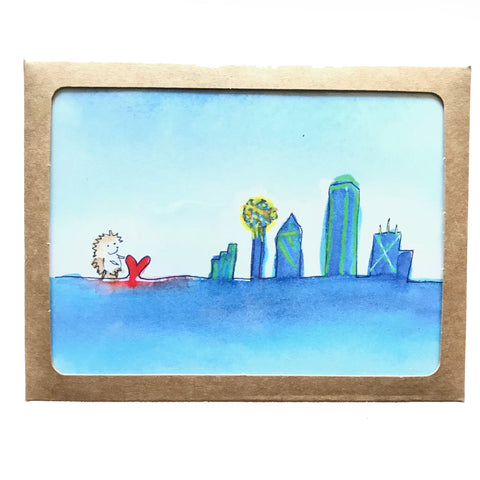 Dallas Skyline Box