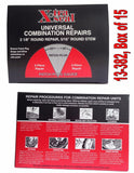 Xtra Seal Universal Combination Tire Plug Patch Repair 31# 13-382