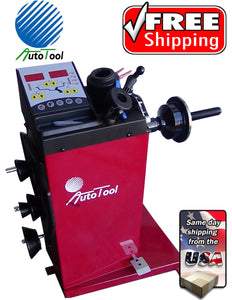 WHEEL BALANCER, TIRE BALANCER AUTOTOOL AUT-800 CAR LIGHT TRUCK HEAVY DUTY