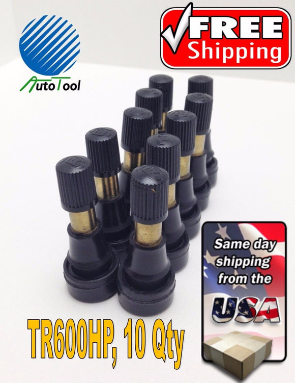 10-TR-600HP-Snap-In-Tire-Valve-Stem-1-1-2-034-453-034-Valve-Hole-TR600-Short