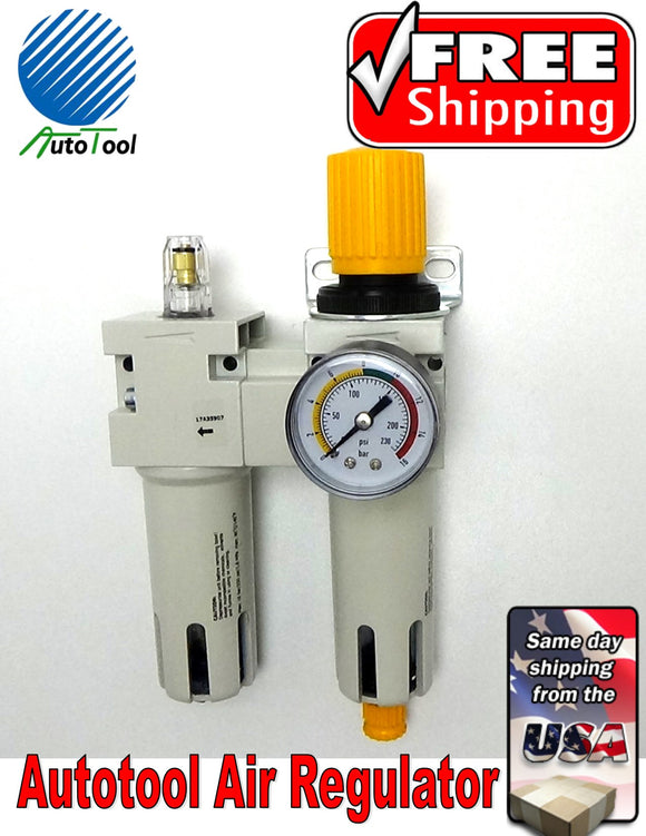 Autotool Tire Changer Air regulator/Lubricator 503-626 plastic head