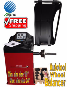 WHEEL BALANCER, TIRE BALANCER AUTOTOOL AUT-825B CAR LIGHT TRUCK HEAVY DUTY