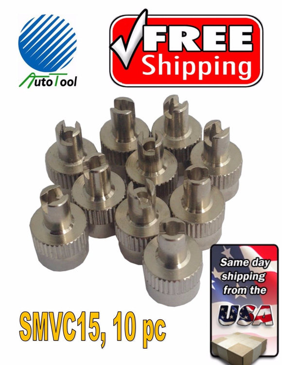 10 Metal Chrome ENKEI Tire/Wheel Valve Cap for Car-Truck-Hot Rod SMVC15