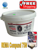 Rema Tire Universal Mounting Lube Paste Made In USA 75N 7.7 Lbs. TPMS Safe