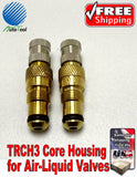 Tractor Air Water Tire Valve Stems Core Housing TRCH3 New Set Of (2)