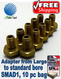 Tire Valve Stems Truck OTR Adapter Large to Standard Bore 17-856 SMAD1 10 pc