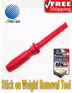 Wheel Balancer Adhesive Stick On Tape Weight Remover Scraper Tool tire changer