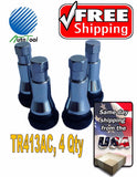 4 PCS TR413 ALL CHROME SNAP-IN WHEEL RIM TIRE VALVE STEM ENKEI CAPS TR413AC