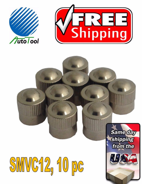 10 Metal Chrome ENKEI Tire/Wheel Valve Cap for Car-Truck-Hot Rod SMVC12