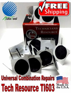 Xtra Seal Tech Resource Universal Combination Tire Plug Patch Repair TI602 USA