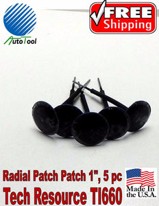 Xtra Seal T-R Lead-Wire Small Combination Tire Plug Patch Repair TI660 Bag of 5