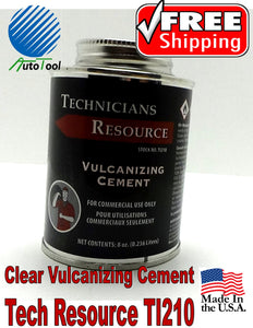 Vulcanizing Glue Cement for COLD Patch 240 cc, 8 Oz Tech Resource Made In USA