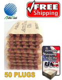 50 PLUGS SEALS 100% SELF VULCANIZING TUBELESS TIRE REPAIR PLUG