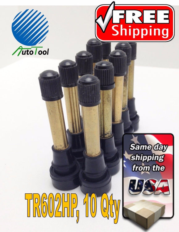 10-TR-602HP-Snap-In-Tire-Valve-Stem-2-1-2-034-453-034-Valve-Hole-TR602-long