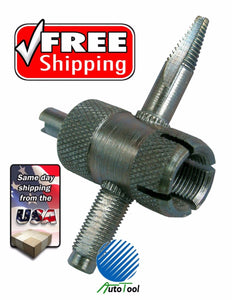 SCHRADER TIRE VALVE REPAIR TOOL REMOVAL REPAIRING CAR & BIKE VT03W