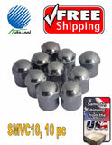 10 Metal Chrome ENKEI Tire/Wheel Valve Cap for Car-Truck-Hot Rod 10 PC SMVC10
