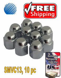 10 Metal Chrome ENKEI Tire/Wheel Valve Cap for Car-Truck-Hot Rod SMVC13