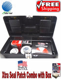 Xtra Seal Tire Repair Complete BOX Combi Kit (patch-plug,glue,sealant,pre-buff)
