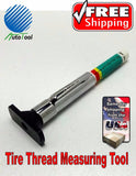 Tire Tread Depth Gauge standard metric gage guage professional color indicator