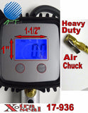 LCD Digital Truckers Tire Air Pressure Gauge Car 175 PSI Xtra Seal (USA) 17-936