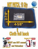 Hot Patch Combo Cushion Gum Hot Patch Hot cement with Box Tire Tube Vulcanizing