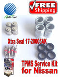 4 TPMS Service Kit for NISSAN Xtra Seal 17-20005AK