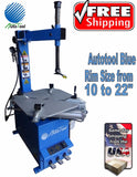 "TIRE CHANGER TIRE MACHINE 10-24"" capacity AUT-LC808 - 626 Motor 1.6 HP BLUE"