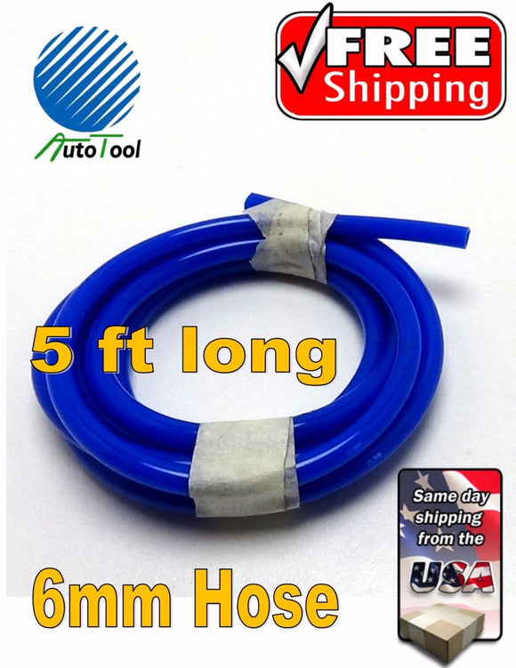 Tubing 6MM air line for Corghi Autotool Quick Connect Hose Tire Changer 5FT Long