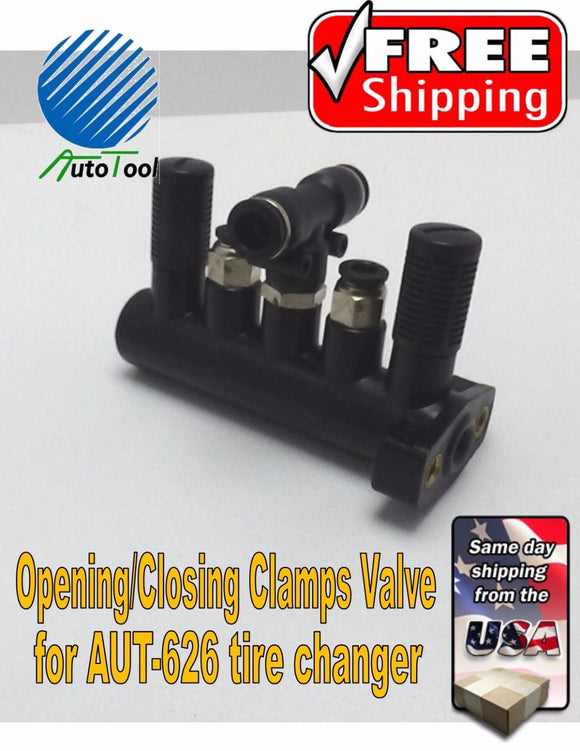 Autotool Tire Changer Clamps Operation pedal VALVE for Autotool 626 or 503